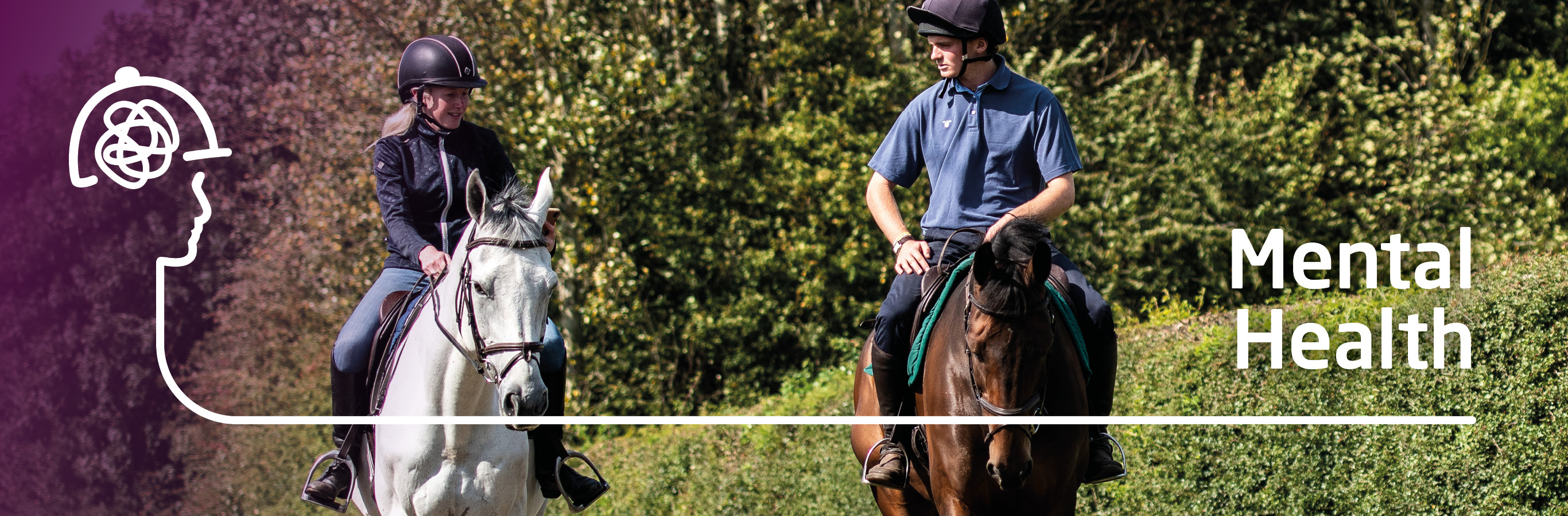 Your Mental Health | Help for Horse Riders | Riders Mind